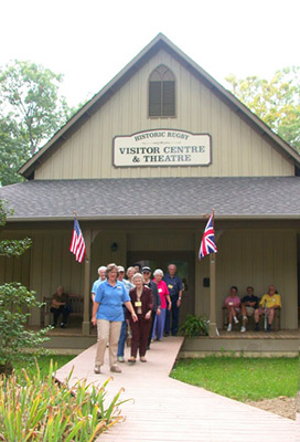 Featured Volunteers: Visitor Centre