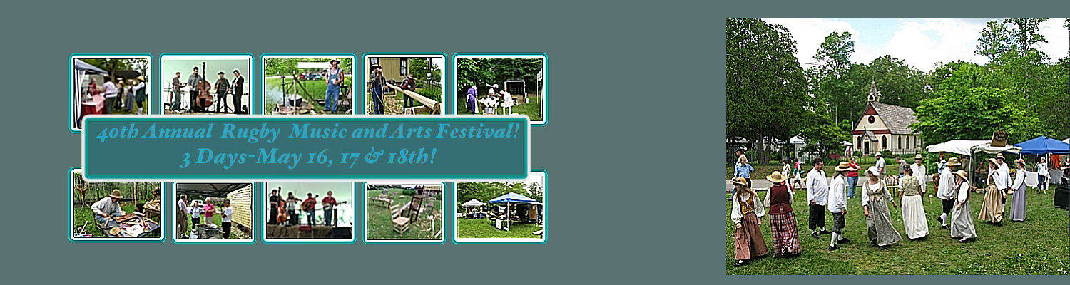 Come to Festival! May 16, 17 & 18th