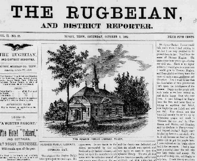 Historic issues of 'The Rugbeian' can now be accessed online!