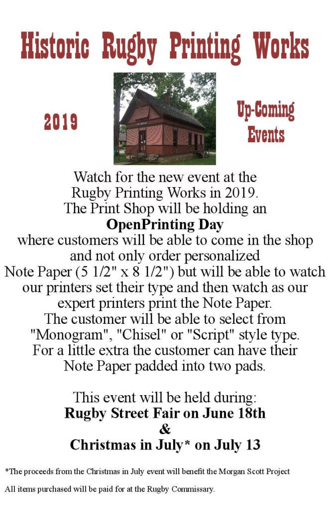 Historic Rugby Printing Works | Historic Rugby