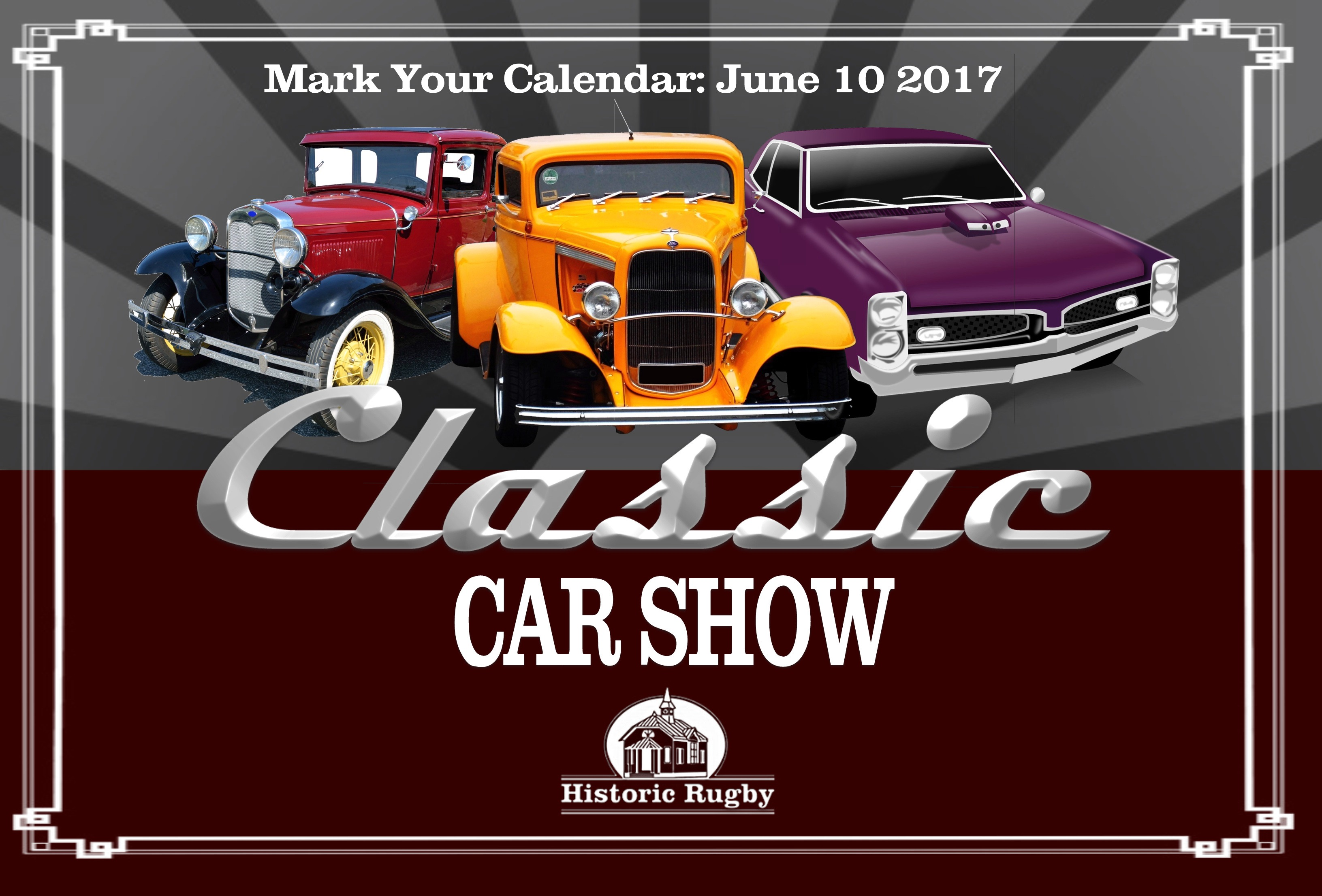 Classic Car Show Registration | Historic Rugby