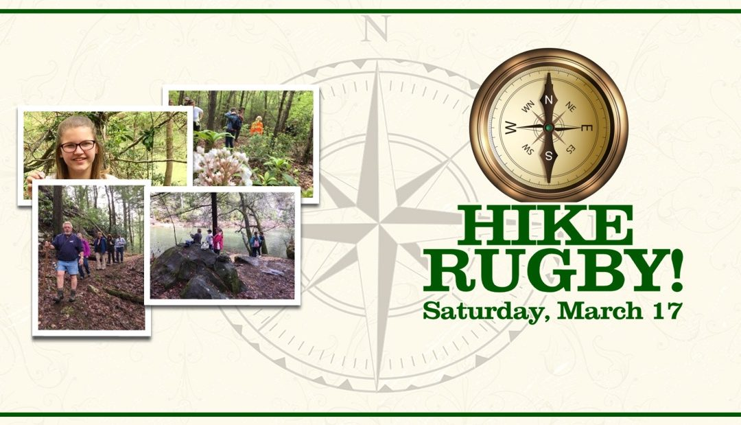Hike Rugby!  Ornament Workshop. Opening Day