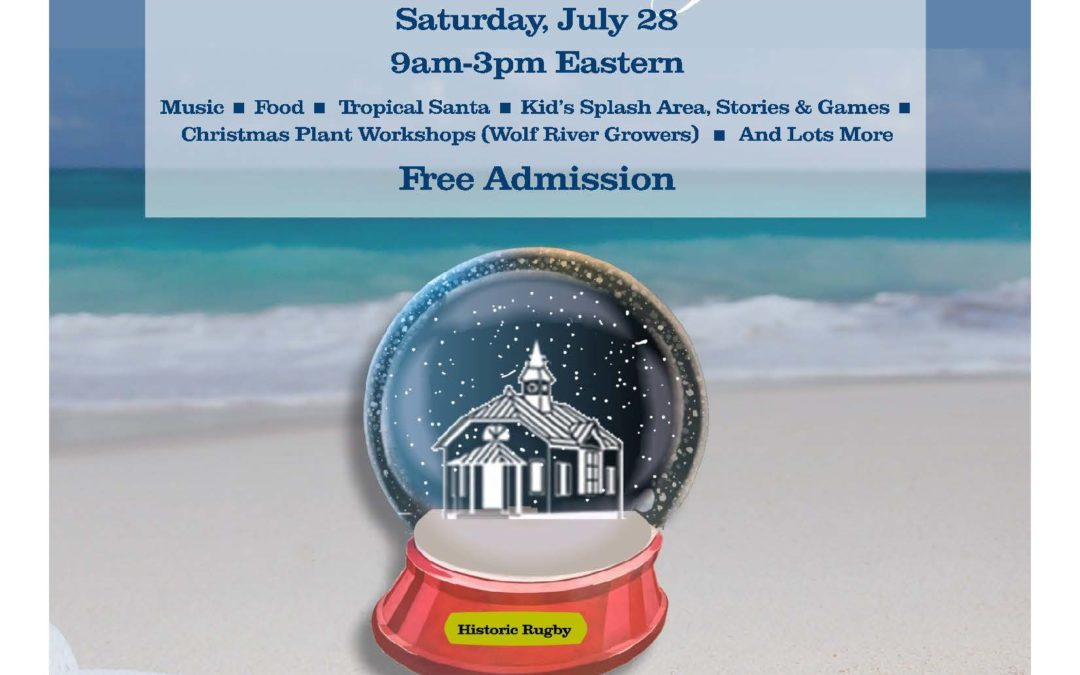 """Historic Rugby's """"Christmas In July"""" Celebration Is Cool Alternative To Summer Heat"""
