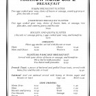 We have a new menu for you at the Harrow Road Cafe!