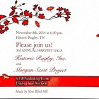 Come to our 3rd Annual Harvest Gala on Nov. 8th!