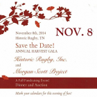Save the Date for our 3rd Annual Harvest Gala!