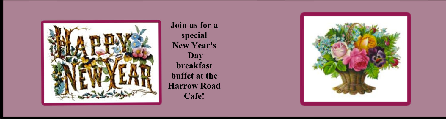 Make reservations now for Jan. 1st!