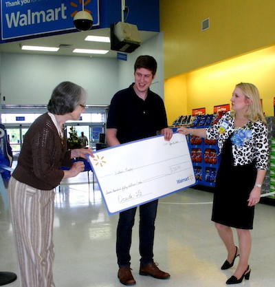 HRI Receives Grant From Wal-Mart!