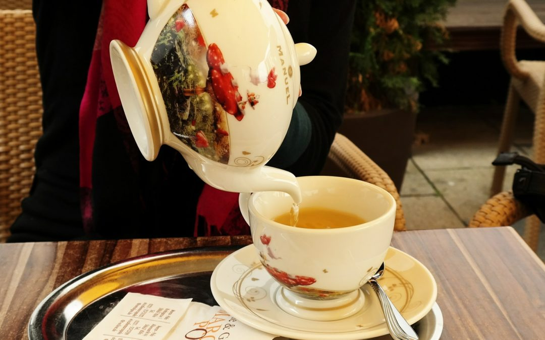 A Royal Holiday Tea