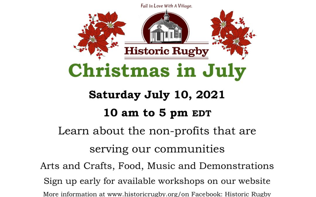 Christmas In July Nonprofit Expo, July 10