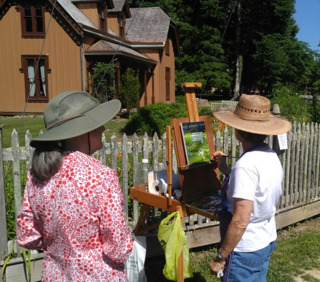 Historic Rugby Is Location For Plein Aire Destination  Painting Workshop August 1-4