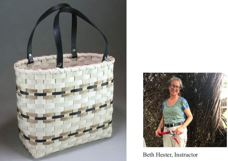 Basket Workshop: Farmer's Market Tote, March 28