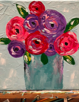 Palette Painting Class, May 22