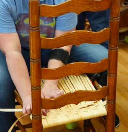 Chair Caning Workshop, Oct. 9